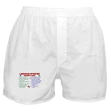 Labrador Retriever Property Laws 2 Boxer Shorts