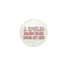 Spoiled Norwich Mini Button (100 pack)