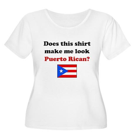 Make Me Look Puerto Rican Women's Plus Size Scoop