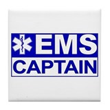 EMS Captain Tile Coaster