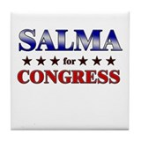 SALMA for congress Tile Coaster