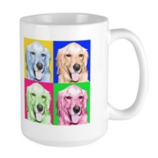 Pop Golden Retriever Coffee Mug