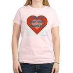 I Share My Heart Women's Pink T-Shirt