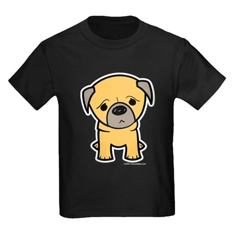 Pug Kids Dark T-Shirt