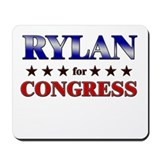 RYLAN for congress Mousepad