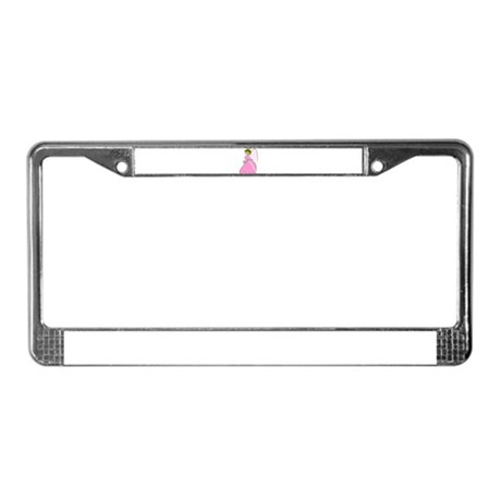 Pretty in Pink Angel License Plate Frame