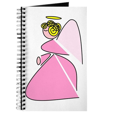 Pretty in Pink Angel Journal
