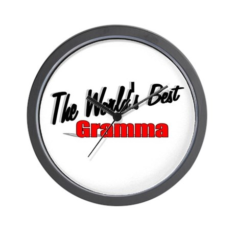 """The World's Best Gramma"" Wall Clock"