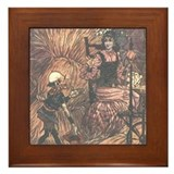 Folkard's Rumpelstiltskin Framed Tile