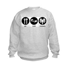 Eat Sleep Foosball Sweatshirt