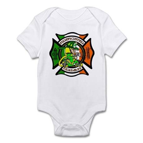 Firefighter-Irish Infant Bodysuit