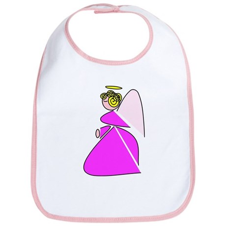 Pretty Angel Bib