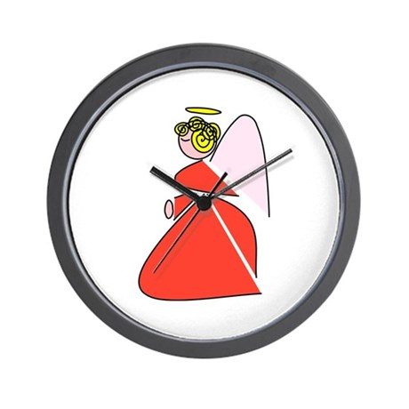 Pretty Angel Wall Clock
