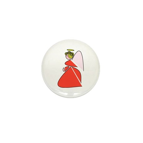Pretty Angel Mini Button (10 pack)