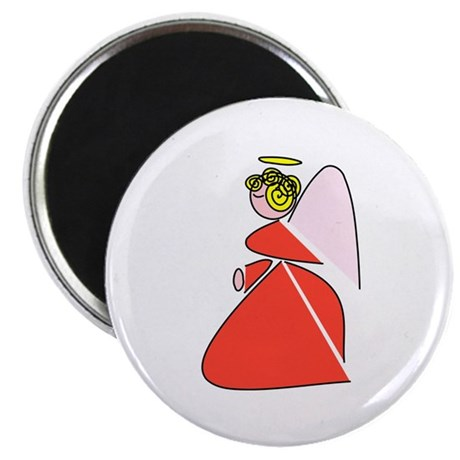 "Pretty Angel 2.25"" Magnet (100 pack)"