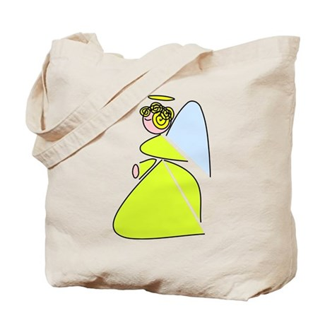 Pretty Angel Tote Bag