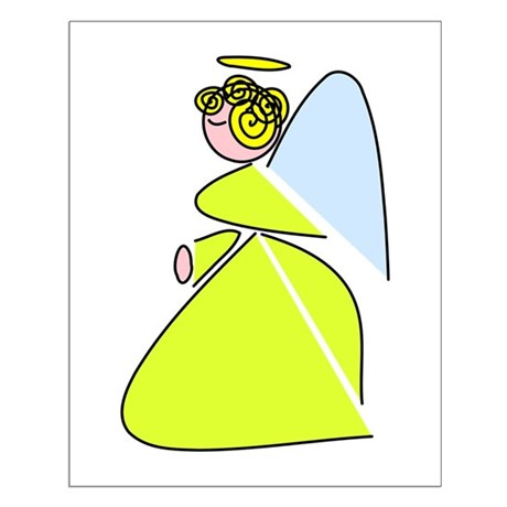 Pretty Angel Small Poster
