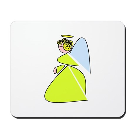 Pretty Angel Mousepad