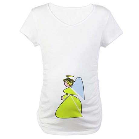 Pretty Angel Maternity T-Shirt