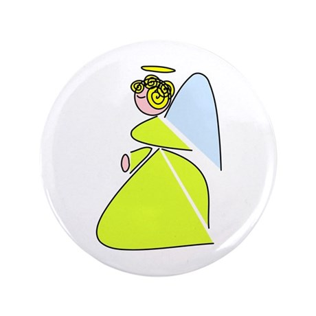 Pretty Angel 3.5&quot; Button