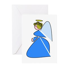 Pretty Angel Greeting Cards (Pk of 10)