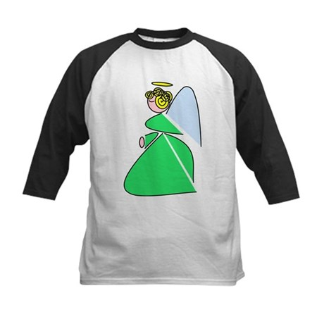 Pretty Angel Kids Baseball Jersey