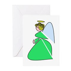 Pretty Angel Greeting Cards (Pk of 20)