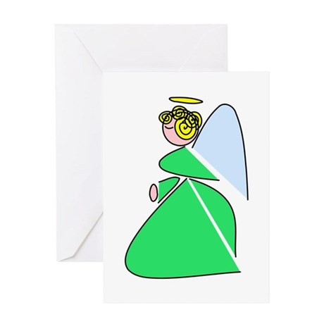 Pretty Angel Greeting Card