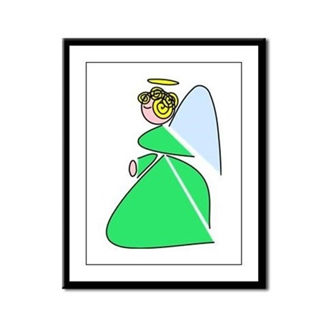 Pretty Angel Framed Panel Print