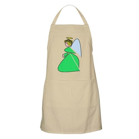 Pretty Angel BBQ Apron