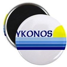 "Mykonos, Greece 2.25"" Magnet (10 pack)"