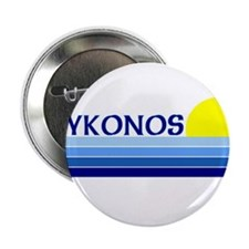 "Mykonos, Greece 2.25"" Button (10 pack)"