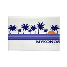 Mykonos, Greece Rectangle Magnet