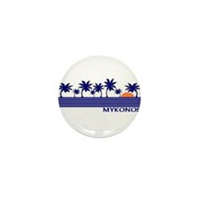 Mykonos, Greece Mini Button (100 pack)