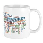 Tag Cloud Mug