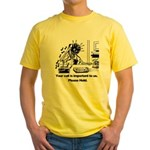 On Hold Zombie Yellow T-Shirt