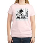 On Hold Zombie Women's Light T-Shirt