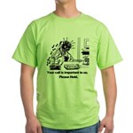 On Hold Zombie Green T-Shirt