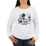 On Hold Zombie Women's Long Sleeve T-Shirt