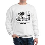 On Hold Zombie Sweatshirt