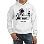 On Hold Zombie Hooded Sweatshirt