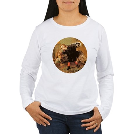 Vintage Thanksgiving Women's Long Sleeve T-Shirt