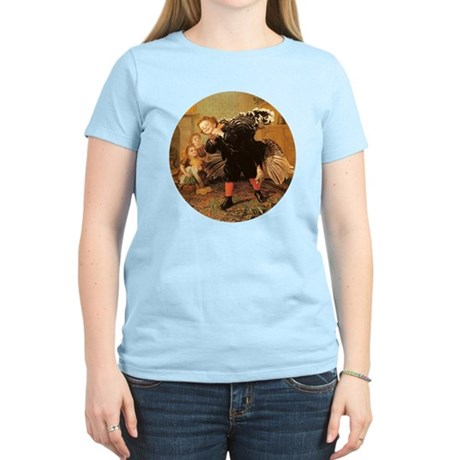 Vintage Thanksgiving Women's Light T-Shirt