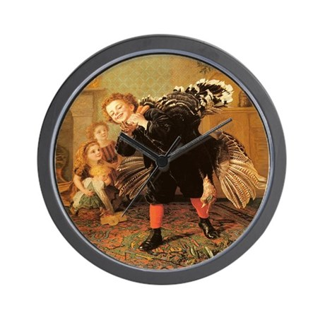 Vintage Thanksgiving Wall Clock