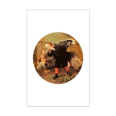 Vintage Thanksgiving Mini Poster Print