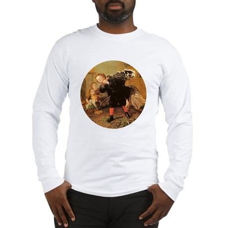 Vintage Thanksgiving Long Sleeve T-Shirt