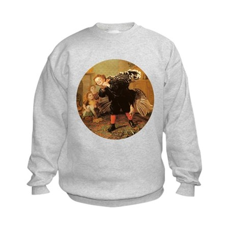 Vintage Thanksgiving Kids Sweatshirt