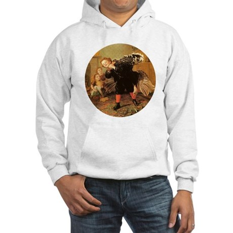 Vintage Thanksgiving Hooded Sweatshirt