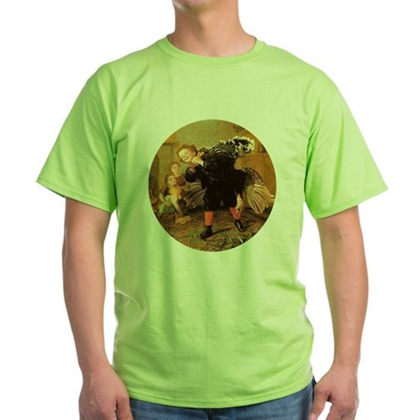 Vintage Thanksgiving Green T-Shirt