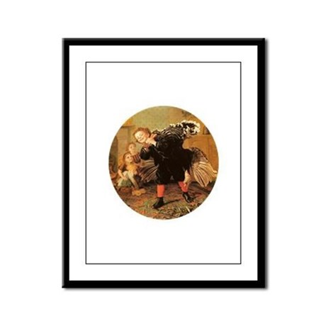 Vintage Thanksgiving Framed Panel Print